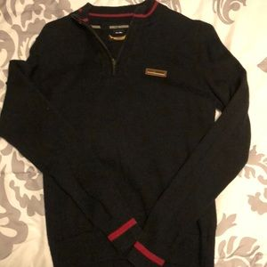 Women's Harley Davidson cotton blend zip sweater
